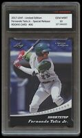 FERNANDO TATIS JR. 2017 (2018) LEAF LIMITED EDITION 1ST GRADED 10 ROOKIE CARD RC