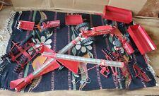 Free Ship! Ertl Vintage Red Tractor Farming Tools Auger Rare Htf Vhtf Vehicle