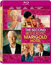 The Second Best Exotic Marigold Hotel [Blu-ray] NEW!