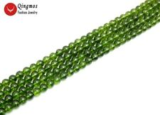 """Natural 10mm Round Green Peridot Beads for Jewelry Making DIY Bracelet 15"""" lo793"""