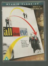 ALL ABOUT EVE - Bette Davis / Anne Baxter - UK REGION 2 DVD