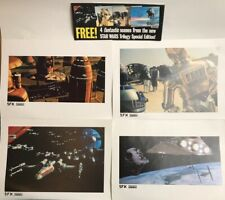 More details for star wars trilogy scenes double sided sfx lucasfilm 1997 prints