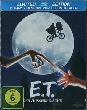 E.T. The Extra-Terrestrial ~German Blu-Ray Steelbook~ *NEW* Steven Spielberg ET