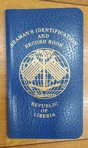 Russia sailor of merchant Navy ID seamen record-book country Liberia  2007