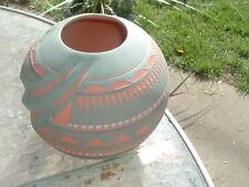 Native American Navajo Vase by Dena Johnson Great Condition