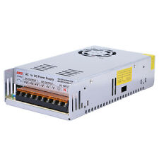 DC 12V 40A 480W Regulated Switching Power Supply Adapter For 5050 3528 LED Strip