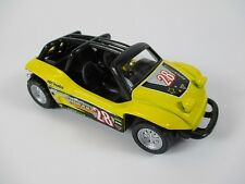 Strandbuggy Smart Buggy Beach giallo scale 1:36 ,Modellino auto diecast,metallo
