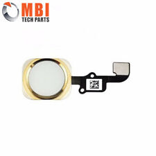 iPhone 6 4.7& Plus 5.5 New Gold Replacement Home Menu Button Ribbon Flex Cable