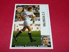 ENRIQUE FERNANDEZ ROMERO VALENCIA CF PANINI LIGA 95-96 ESPANA 1995-1996 FOOTBALL