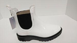 Sam Edelman Chesney Chelsea Boots, White, Women's 6 M