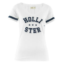 HOLLISTER Damen T-Shirt 357-586-0234-100 Weiß / M (38) / Shirt