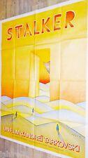STALKER !  Andreï Tarkovski affiche cinema vintage folon