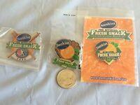 Little League World Series Lot Of 3 Sunkist Sponsor Pins