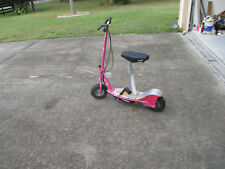 Razor E300S Seated Electric Scooter Sweet Pea Pink Razor