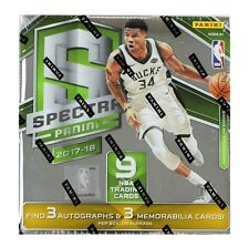 2017-18 PANINI SPECTRA BASKETBALL HOBBY SEALED BOX