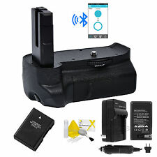 Bluetooth Battery Grip for Nikon D3100 D3200 D3300 +ENEL14 Battery+AC/DC Charger