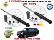 FOR ISUZU RODEO 2.5 3.0 DITD TFR86 TFR85 2002-2012 2 X FRONT SHOCK ABSORBER SET