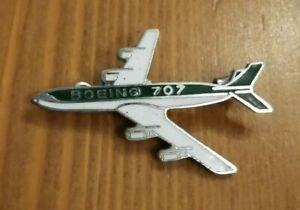 Boeing 707 enamel pin badge NEW