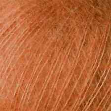 Rowan ::Kidsilk Haze #680:: mohair silk yarn Burnt Caramel