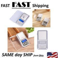 Pocket Digital Jewelry Scale Weight 500g x 0.01g Balance Electronic Gram