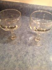 "New listing Jose Cuervo 1800 Cactus Margarita Glasses 6"" Tall"