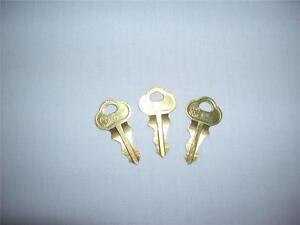 Slot Machine Jackpot Reset Key 2341 Lot of 3 Keys, IGT, Bally, WMS