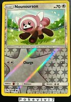 Carte Pokemon NOUNOURSON 111/149 Reverse Soleil et Lune 1 SL1 FR NEUF