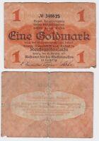 1 Goldmark Banknote Leipzig Meßamt für Mustermessen 25.10.1923 (121643)