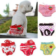 Hot Sale Pet Sanitary Panties Dog Cat Puppy Pants Short Diaper Underwear SML