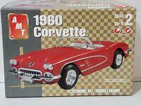 AMT Ertl 1960 Corvette Model Car Kit 1/25 Scale #H-152