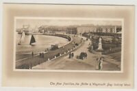 Dorset postcard - The New Pavilion, The Nothe & Weymouth Bay (A1776)
