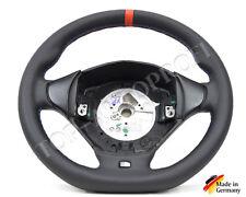 Bmw e36 m3 e39 m5 Sport m volante de cuero nuevo refieren beledern aplanada