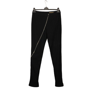 Rare Alexander McQueen Assimetric Twisted Zip Women's Pants Size 40