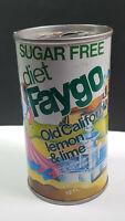 Faygo Old California Lemon Lime Sugar Free Diet Can Flat Pull Tab Top Rare Vtg