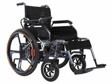 Foldable Lightweight Portable 24V 20Ah Manual/Electric Power Wheelchair No Slid