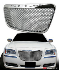2011-2014 CHRYSLER 300 300C CHROME LUXURY MESH FRONT BUMPER GRILL GRILLE GUARD