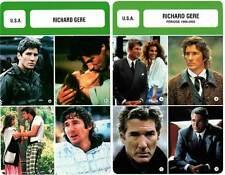 FICHE CINEMA x2 : RICHARD GERE -  USA (Biographie/Filmographie)