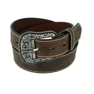 New Ariat Women's Western Belt with Removable Buckle