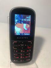 ALCATEL One Touch OT-303- Black (Unlocked) Mobile Phone OT 303