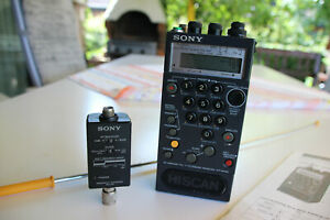 """SONY PLL SYNTHESIZED RECEIVER """"ICF-PRO80"""""""
