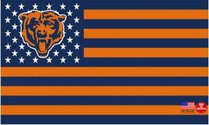 Chicago Bears FLAG 3X5 Chicago Football New Fast USA Shipping Da Bears