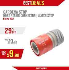 Gardena Quick Connector Water Stop, New, Fast Ship