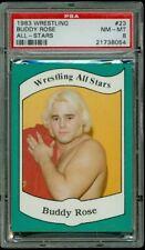 "1983 Wrestling All Stars #23 ""Playboy"" Buddy Rose PSA 8 NM-MT"