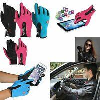 étanches Hiver Gants Doublés Tactile Ski Moto Moufles Warm Sports Gloves M/L/XL