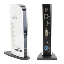 Fujitsu PR08 USB 3.0 Dock - Port Replicator - DisplayLink
