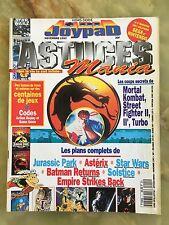 JOYPAD ASTUCES MANIA 1 11/93 MAGAZINE DE JEUX VIDEO NINTENDO SEGA XBOX RETRO