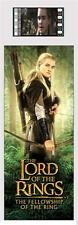 LORD OF THE RINGS Fellowship of the Ring Legolas MOVIE FILM CELL BOOKMARK New