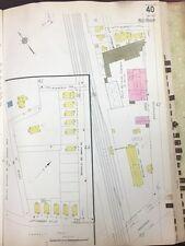 1928 Boston Roxbury Jamaica Plain, Ma. Kinney Manufacturing Co. Plat Atlas Map