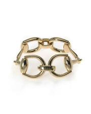 Gucci 18k Yellow Gold Horsebit Bracelet YBA133292002018