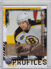 2006-07 PHIL KESSEL AUTO 1/5  BAP BE A PLAYER PROFILES #PP10
